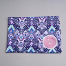 Біфлекс для купальників ромби фіолетово-сині