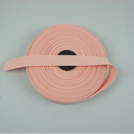 Бавовняна бейка рожево-персикова