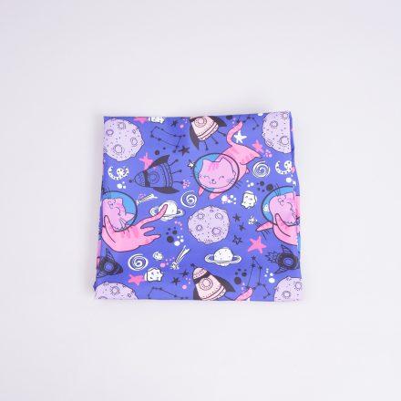 Канада коти в космосі на фіолетовому (плащівка)