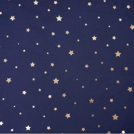 Плащівка золотисті зірки на темно-синьому №2