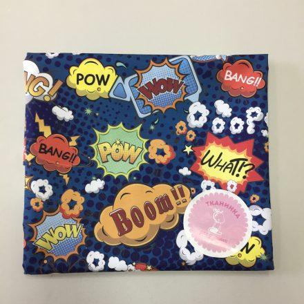 Тканина для шортів комікси BOOM