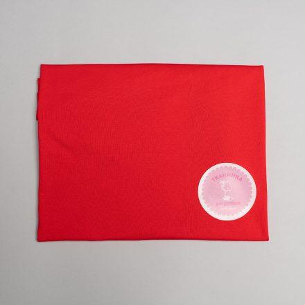 Стрейч-кулір однотон світлий червоний