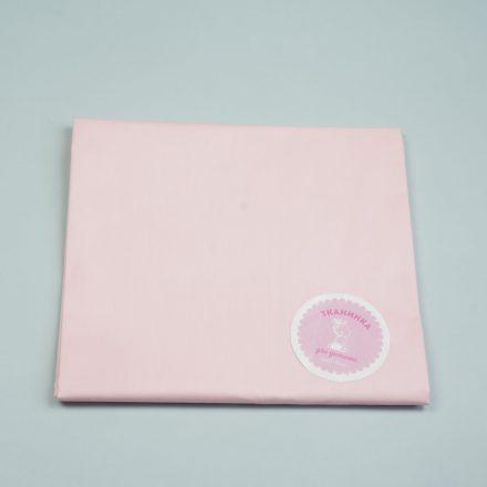 Сатин однотон рожевий
